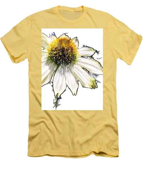 Wild Flower Five  Men's T-Shirt (Slim Fit) by Heidi Smith