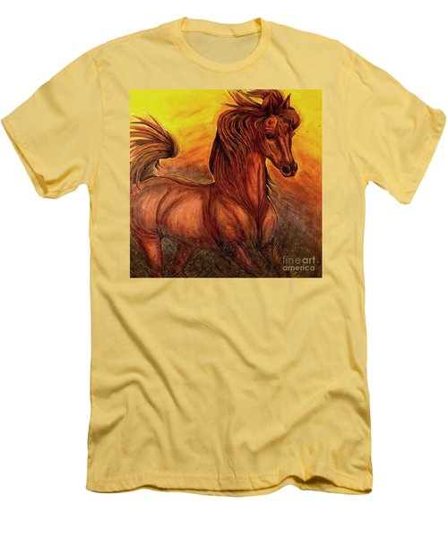 Wild Spirit Men's T-Shirt (Slim Fit) by Kim Jones