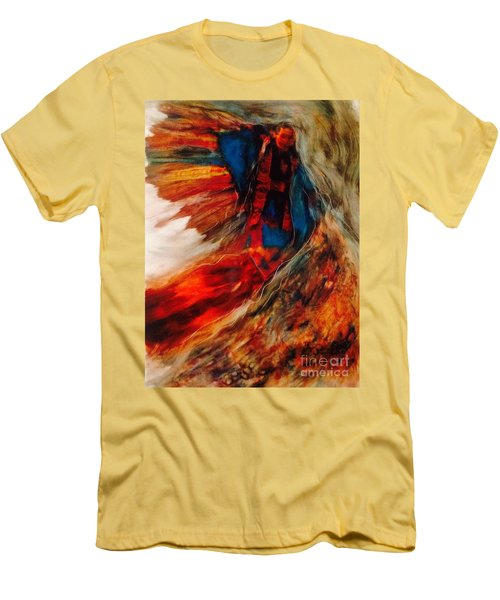 Winged Ones Men's T-Shirt (Slim Fit) by FeatherStone Studio Julie A Miller