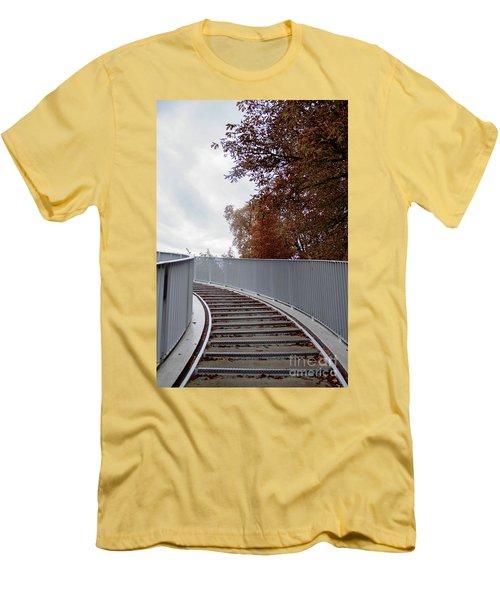 Winter Is Around The Corner Men's T-Shirt (Slim Fit) by Ana Mireles