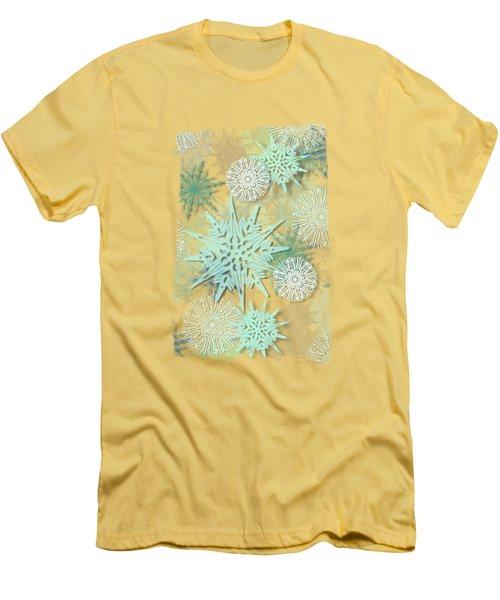 Winter Nostalgia Men's T-Shirt (Slim Fit) by AugenWerk Susann Serfezi