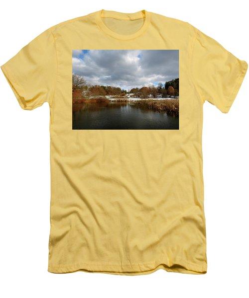 Winter Sky Men's T-Shirt (Athletic Fit)