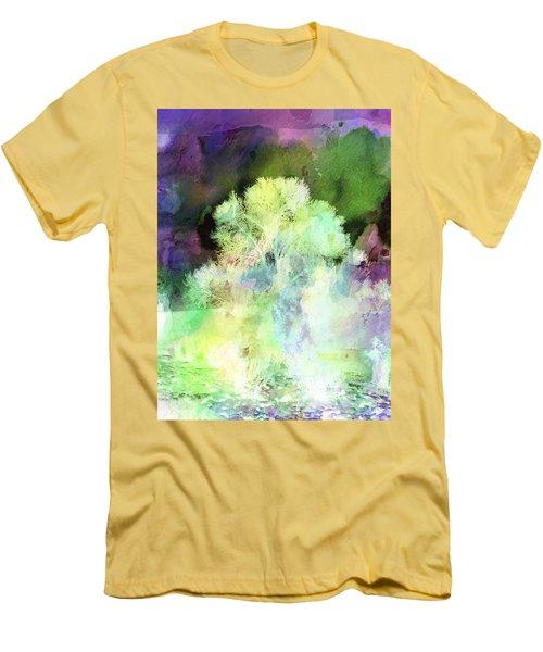 Winters Storm Men's T-Shirt (Athletic Fit)