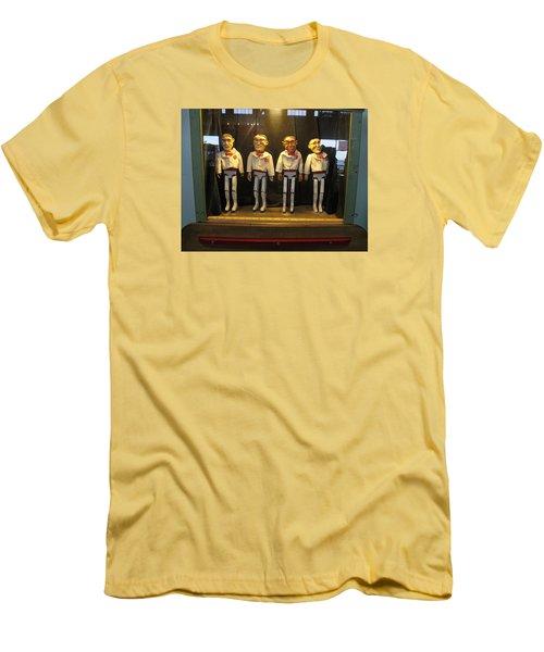 Wooden Rat Pack Men's T-Shirt (Athletic Fit)