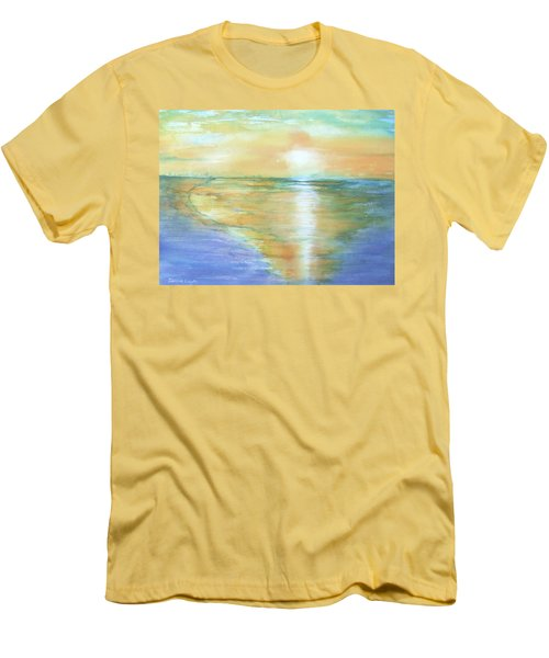 Wow Sunset Men's T-Shirt (Athletic Fit)
