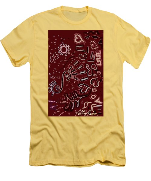 Wrapping Paper Men's T-Shirt (Athletic Fit)