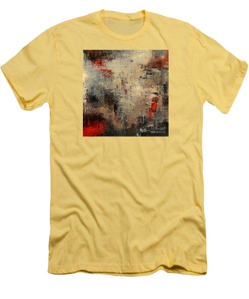Wreckage Men's T-Shirt (Slim Fit) by Tatiana Iliina
