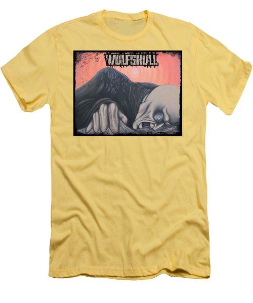Wulfskull#4 Men's T-Shirt (Athletic Fit)