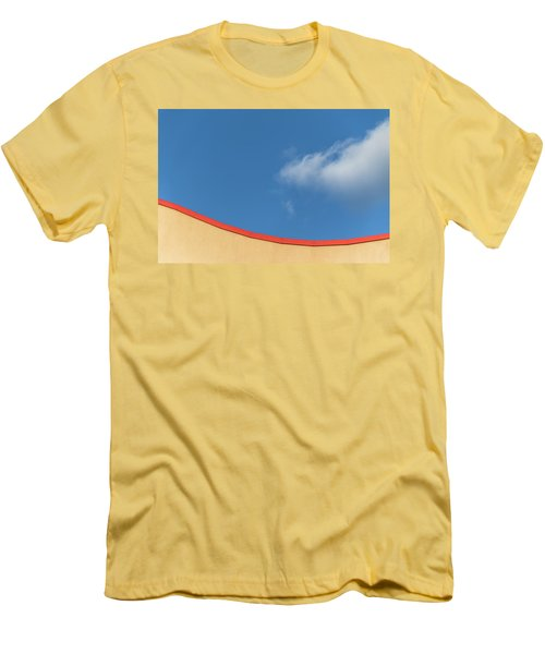 Yellow And Blue - Men's T-Shirt (Athletic Fit)