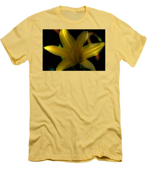 Yellow Beckoning Men's T-Shirt (Athletic Fit)
