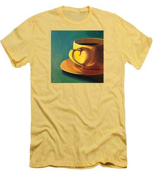 Yellow Java Men's T-Shirt (Athletic Fit)