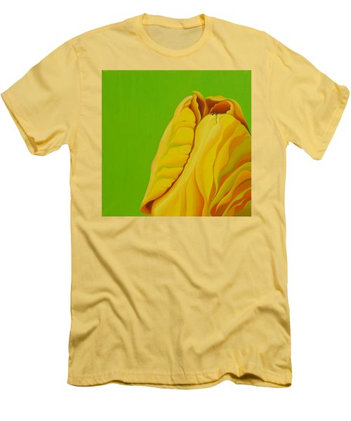 Yellow Somebuddy Men's T-Shirt (Athletic Fit)