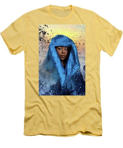 Yemaya Men's T-Shirt (Slim Fit) by David Clanton