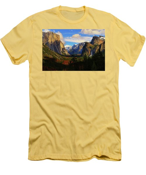 Yosemite Valley Men's T-Shirt (Athletic Fit)