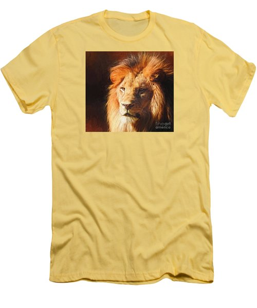 Young King Men's T-Shirt (Slim Fit) by Suzanne Handel