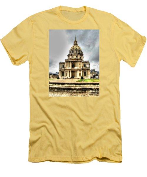 Yury Bashkin Nice Place Men's T-Shirt (Slim Fit) by Yury Bashkin