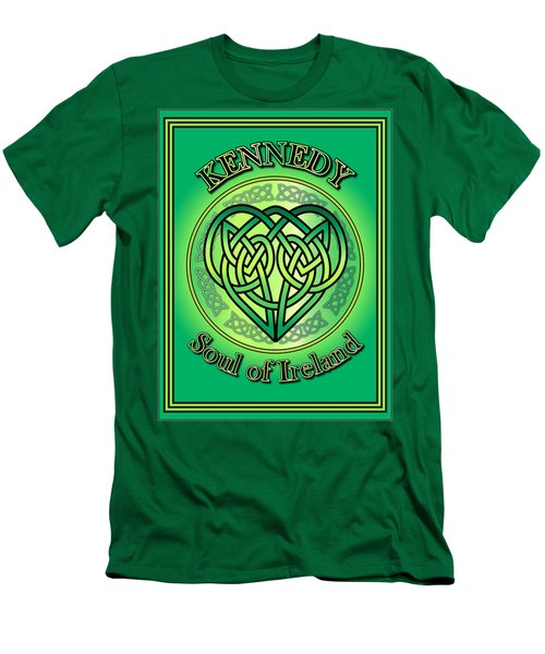 Kennedy Soul Of Ireland Men's T-Shirt (Slim Fit) by Ireland Calling