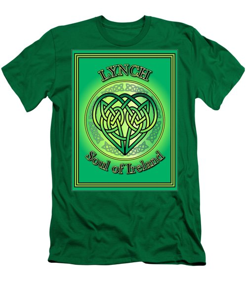 Lynch Soul Of Ireland Men's T-Shirt (Athletic Fit)
