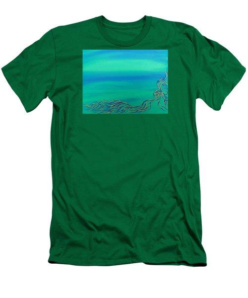 Nerissa Men's T-Shirt (Slim Fit) by Robert Nickologianis
