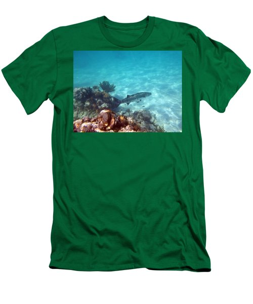Men's T-Shirt (Slim Fit) featuring the photograph Barracuda by Eti Reid