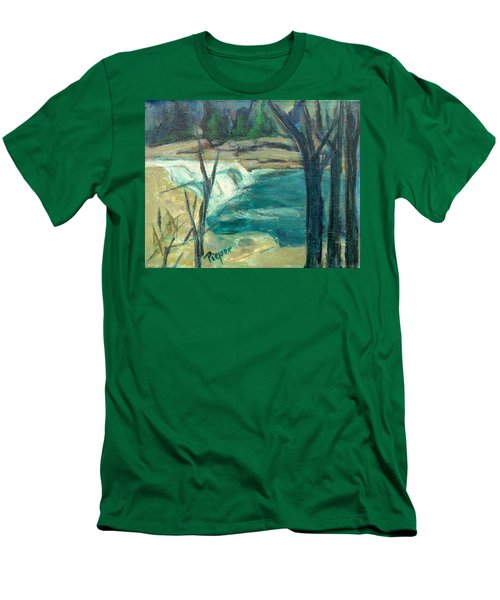 Canajoharie Creek Near Village Men's T-Shirt (Athletic Fit)