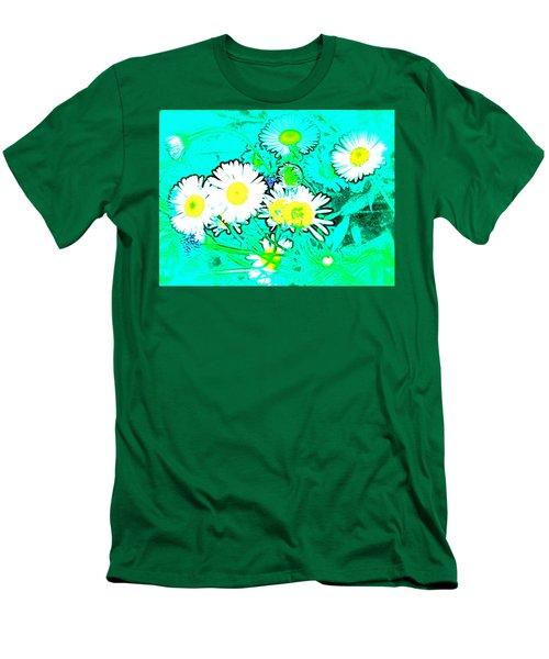 Men's T-Shirt (Slim Fit) featuring the photograph Color 7 by Pamela Cooper