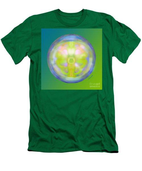 Crystal Ball Men's T-Shirt (Slim Fit) by Christine Fournier