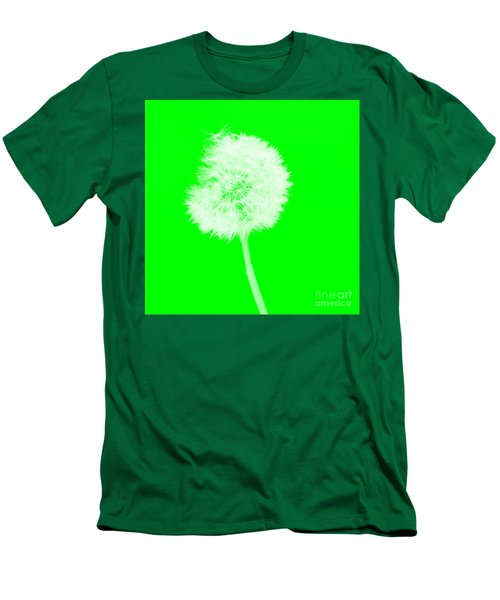 Men's T-Shirt (Athletic Fit) featuring the digital art Dandylion Green by Clayton Bruster