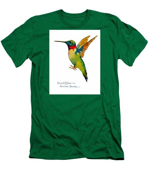 Da166 Hummer Dreams Daniel Adams Men's T-Shirt (Athletic Fit)