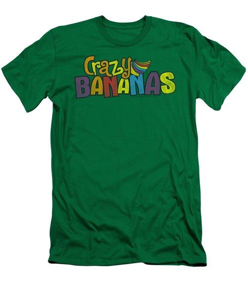 Dubble Bubble - Crazy Bananas Men's T-Shirt (Slim Fit)