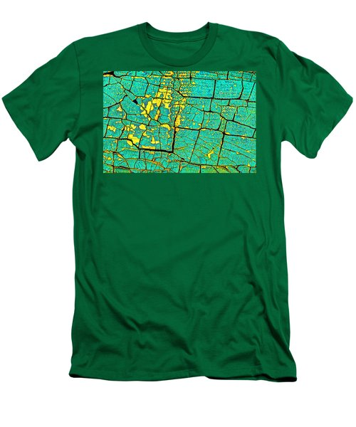 Men's T-Shirt (Slim Fit) featuring the photograph Flyover Country by Jerry Gammon