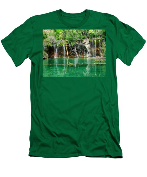 Hanging Lake 1 Men's T-Shirt (Slim Fit) by Ken Smith