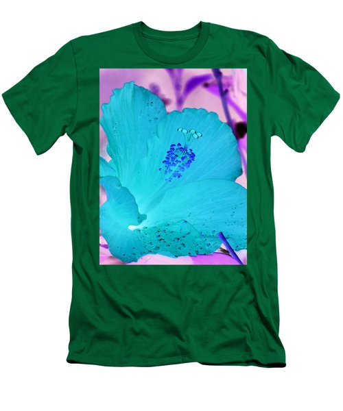 Hibiscus - After The Rain - Photopower 760 Men's T-Shirt (Athletic Fit)