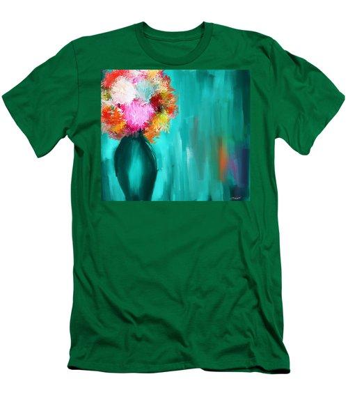 Intense Eloquence Men's T-Shirt (Slim Fit) by Lourry Legarde