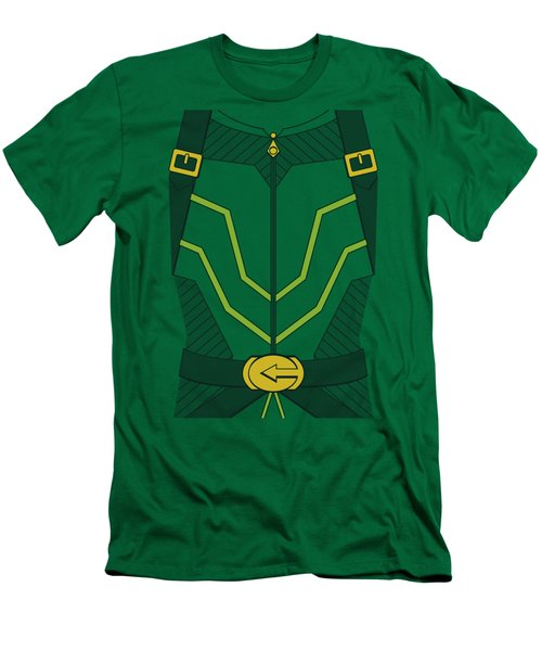 Jla - Arrow Costume Men's T-Shirt (Athletic Fit)