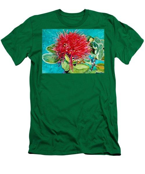 Lehua Blossom Men's T-Shirt (Athletic Fit)