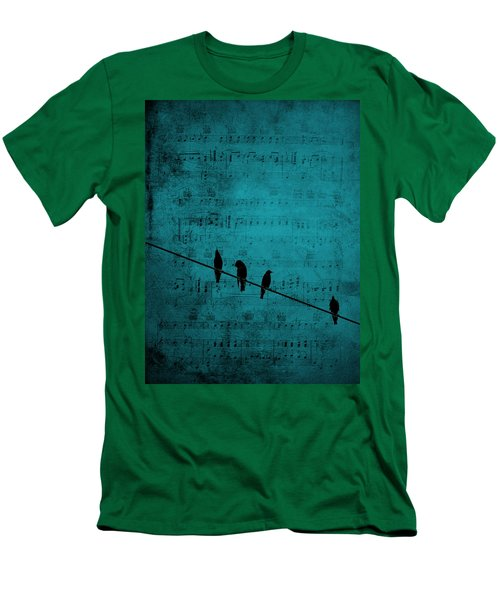 Music Soothes The Soul Men's T-Shirt (Slim Fit) by Andrea Kollo