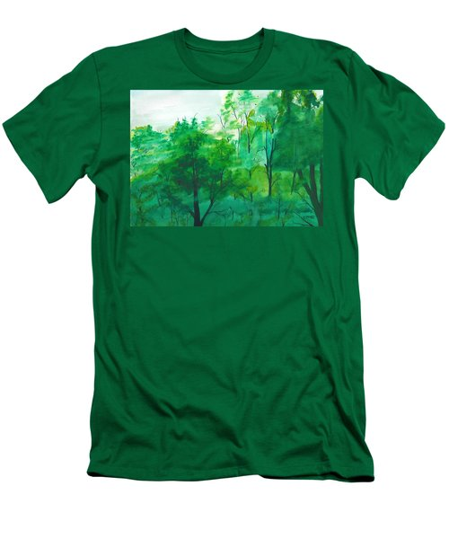 My Backyard Men's T-Shirt (Athletic Fit)