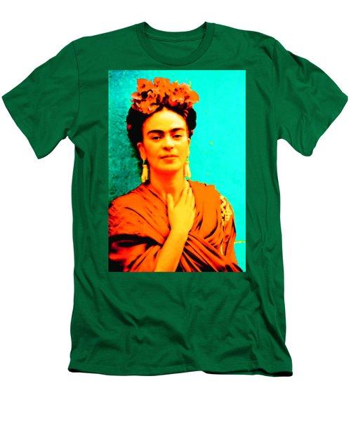 Orange You Glad It Is Frida Men's T-Shirt (Athletic Fit)
