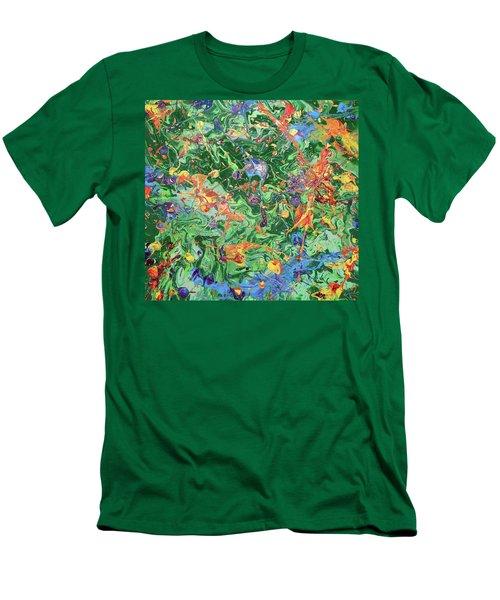 Paint Number Twenty Three Men's T-Shirt (Athletic Fit)