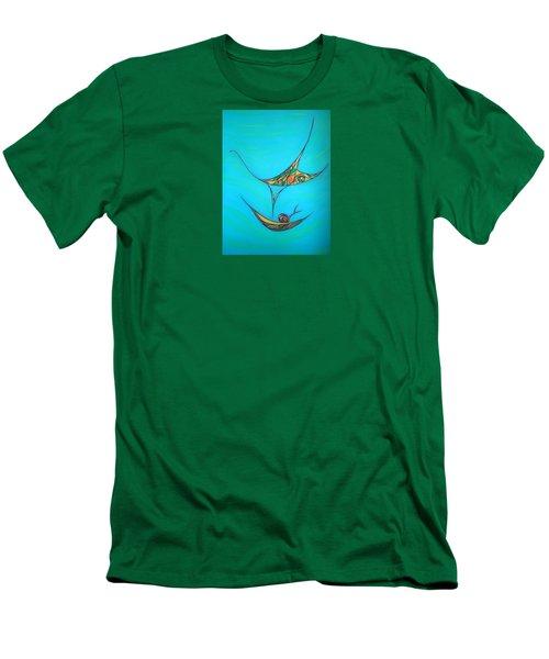 Pneuma Men's T-Shirt (Slim Fit) by Robert Nickologianis
