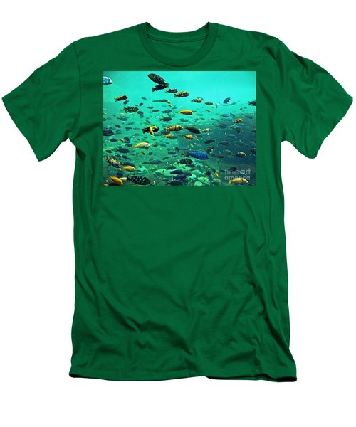 Something Fishy Men's T-Shirt (Athletic Fit)