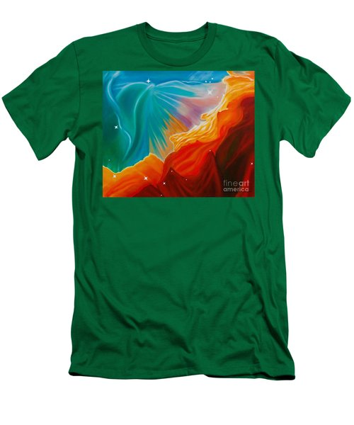 Swan Nebula Men's T-Shirt (Athletic Fit)