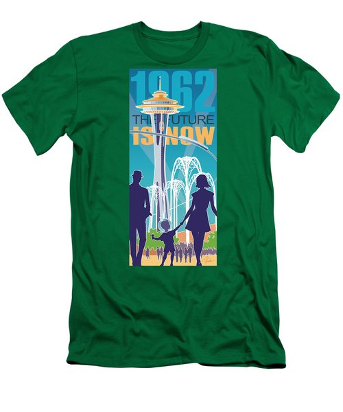The Future Is Now - Daytime Men's T-Shirt (Athletic Fit)