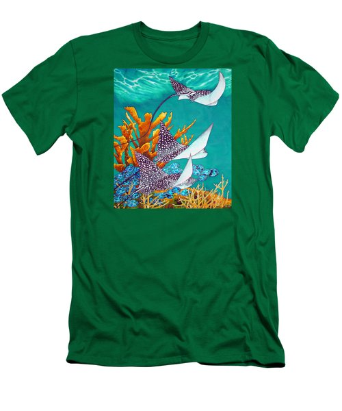 Under The Bahamian Sea Men's T-Shirt (Athletic Fit)