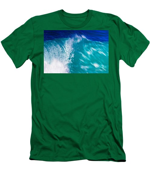 Wave 01 Men's T-Shirt (Athletic Fit)