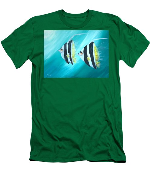 Angel Fish Men's T-Shirt (Athletic Fit)