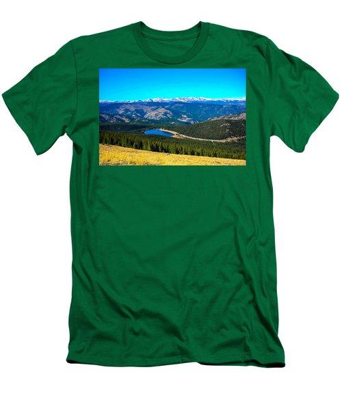 Men's T-Shirt (Slim Fit) featuring the photograph Paradise by Shannon Harrington