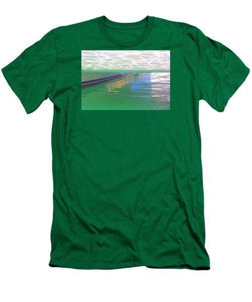 Men's T-Shirt (Slim Fit) featuring the photograph Reflections by Nareeta Martin
