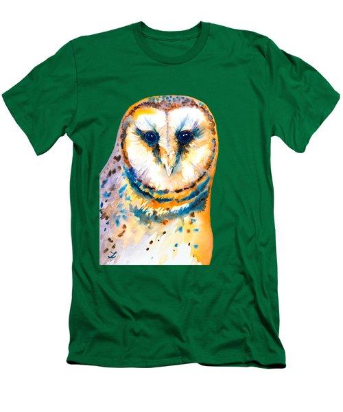 Gorgeous Barn Owl Men's T-Shirt (Athletic Fit)